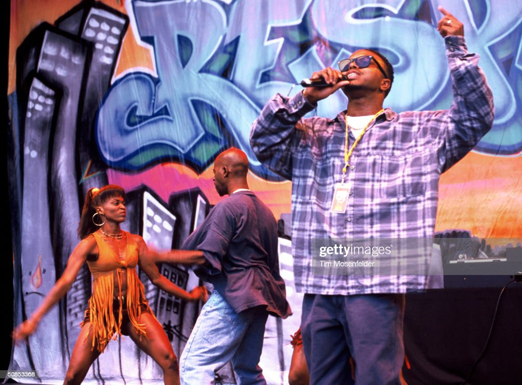 Dabrat at KMEL Summer Jam 1994 : News Photo