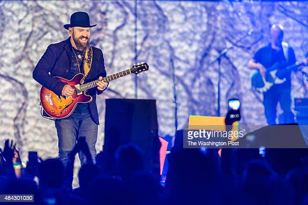 WASHINGTON DC August 14 2015 The Zac Brown Band performs at Nationals Park in Washington DC during their JEKYLL HYDE tour