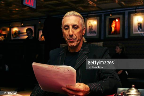 Dee Snider of Twisted Sister on set for a food related segment on August 15 2005 in New York City