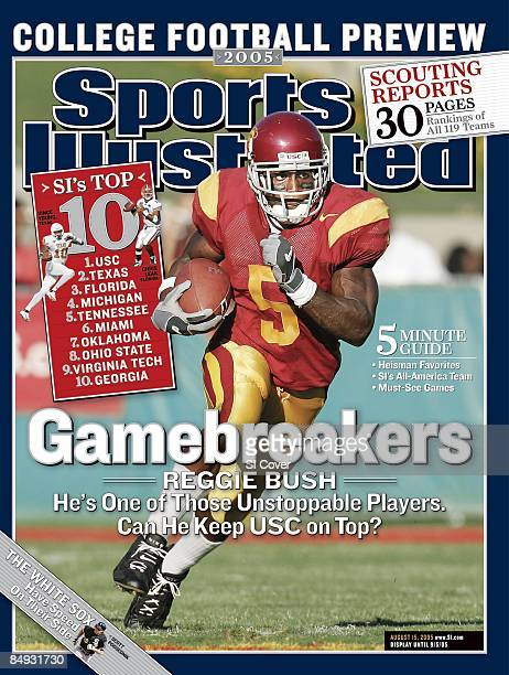 College Football USC Reggie Bush in action rushing vs Colorado State Los Angeles CA 9/11/2004 CREDIT Peter Read Miller