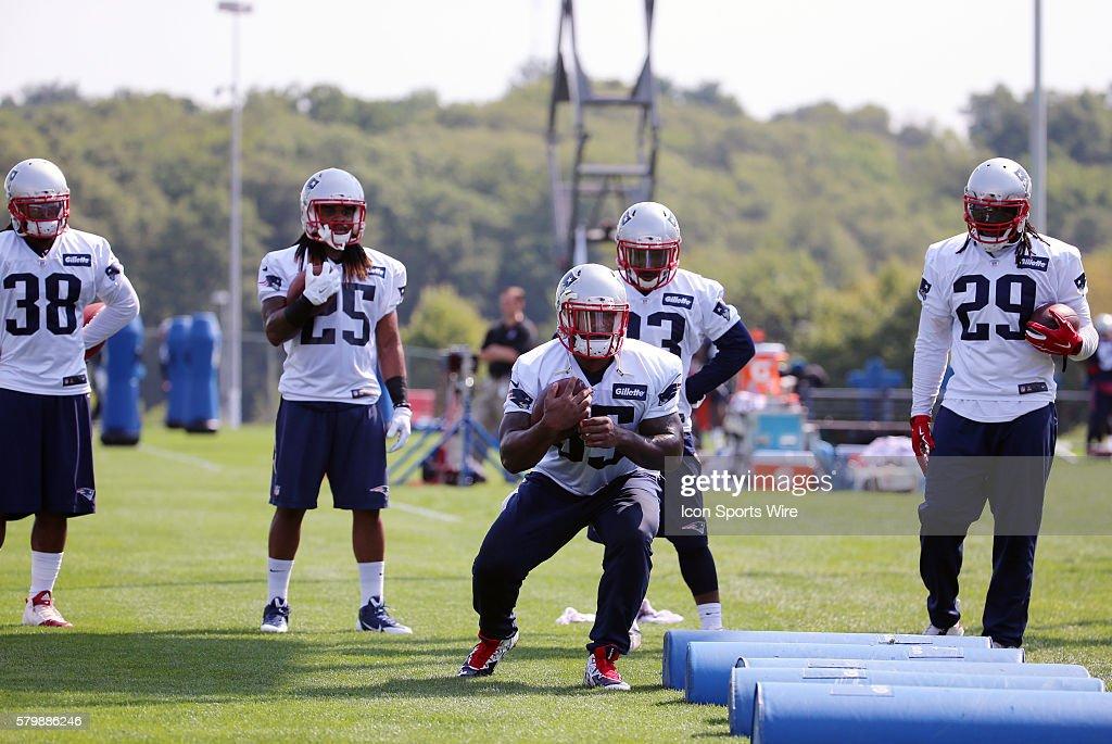 NFL: AUG 15 Patriots Training Camp : News Photo