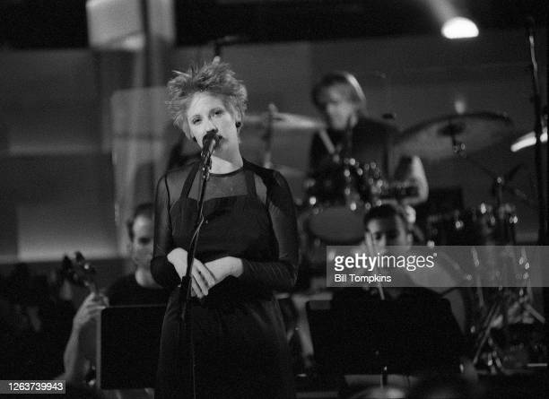 MANDATORY CREDIT Bill Tompkins/Getty Images Leigh Nash of Six Pence None The Richer performs on August 17th 2004 in Hartford