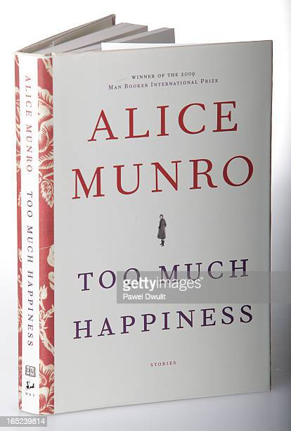 August 18 2009 book Too Much Happiness by Alice Munro Toronto Star/Pawel Dwulit
