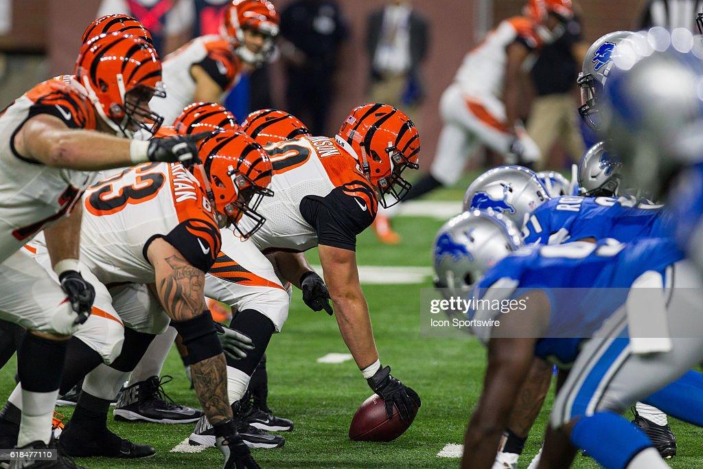 NFL: AUG 18 Preseason - Bengals at Lions : News Photo
