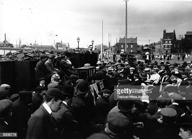 An Independent Labour Party meeting in Yarmouth.