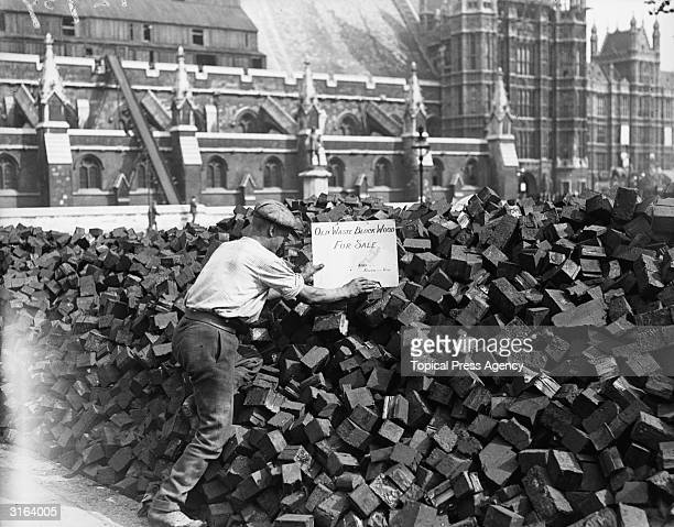 1910 1919 stock photos et images de collection getty images for Demolition wood for sale