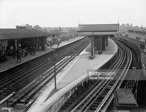 Putney Bridge Railway Station London