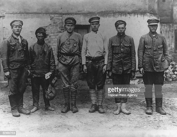 Members of the Bolshevik Army in Poland