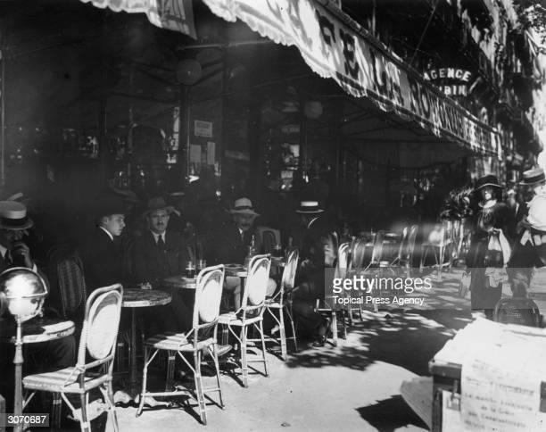 La Rotonde a pavement cafe in Paris