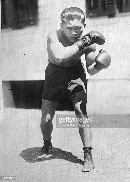 Filipino Flyweight Pancho Villa Knocked out Jimmy Wilde in New York 1923 to become World Champion Only defended his title once before he died in 1925...