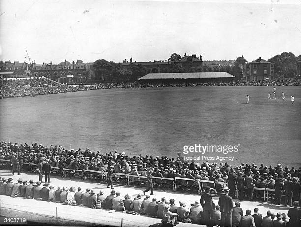 5th Test Match at the Oval, Kennington, London. England v Australia. England won by 289 runs and win the Test series 1-0.