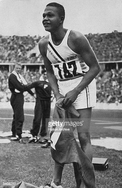 Archie F Williams 400 metres record holder and 1936 Olympic champion