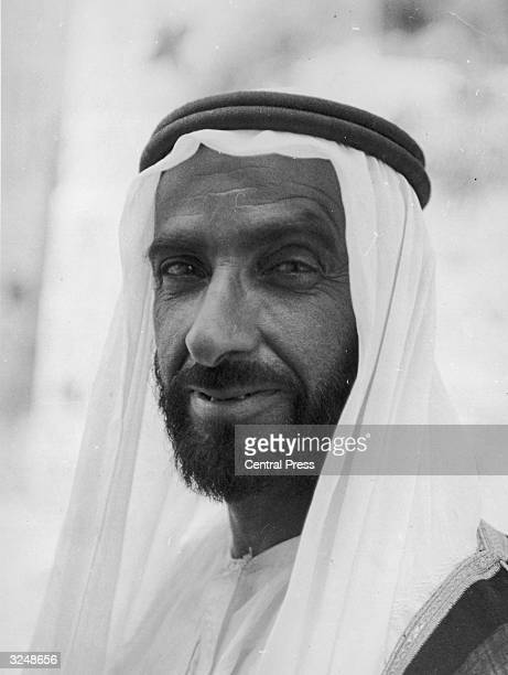 Sheikh Zayed bin Sultan alNahayan ruler of Abu Dhabi and successor to his elder brother Sheikh Shakbut