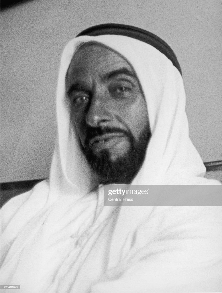 Sheikh Zayed bin Sultan al-Nahayan, ruler of Abu Dhabi  News Photo