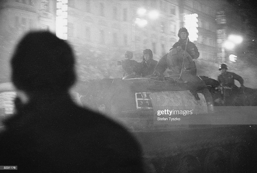 50 Years Since The Soviet Invasion Of Czechoslovakia