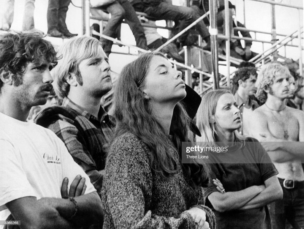 Woodstock Fans : News Photo