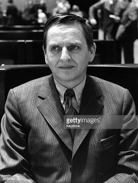 Olof Palme Prime Minister of Sweden and leader of the Social Democratic Party