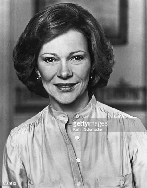 An official photograph of American First Lady Rosalynn Smith Carter
