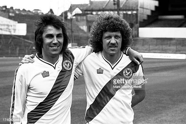 08 August 1979 Crystal Palace FC new signings Gerry Francis and Mike Flanagan