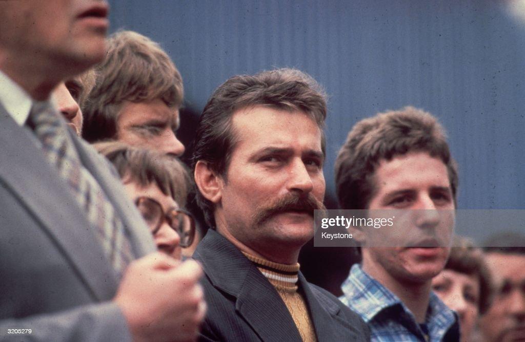 Lech Walesa : News Photo
