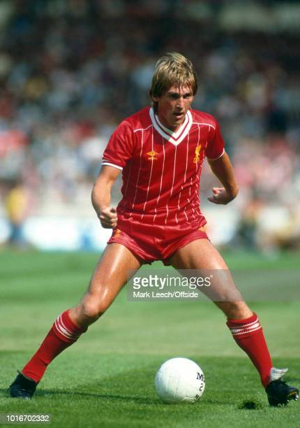 21 August 1982 Football Association Charity Shield Liverpool v Tottenham Hotspur Kenny Dalglish of Liverpool