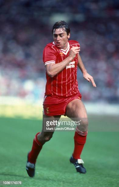 20 August 1983 Wembley FA Charity Shield Liverpool v Manchester United Michael Robinson of Liverpool FC