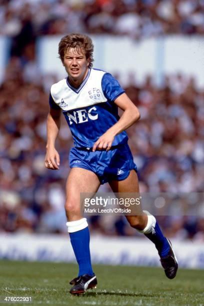 26 August 1985 Football League Division One Tottenham Hotspur v Everton FC Adrian Heath of Everton
