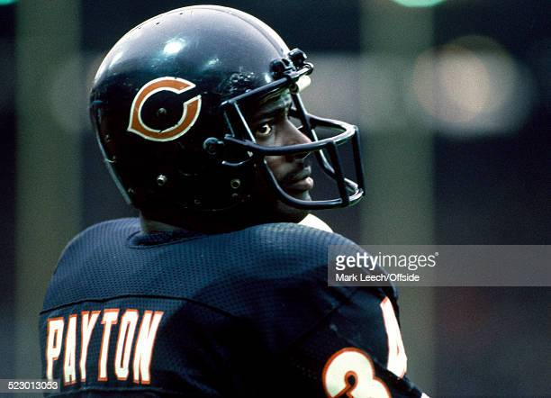 03 August 1986 Chicago Bears v Dallas Cowboys Walter Payton of Chicago Bears