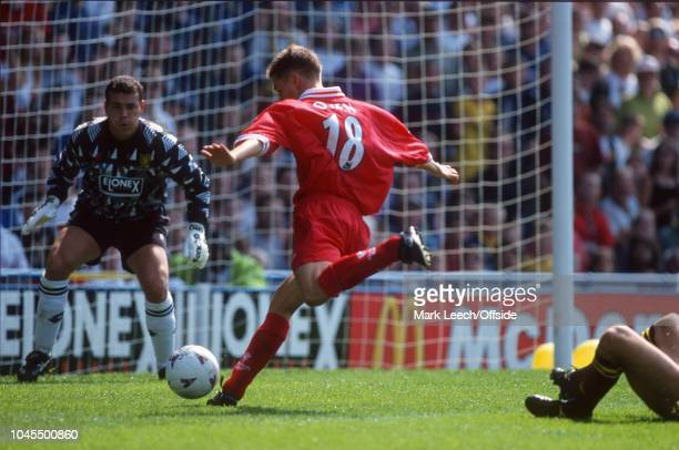 August 1987 - Premiership Football - Wimbledon v Liverpool - Michael Owen of Liverpool - .