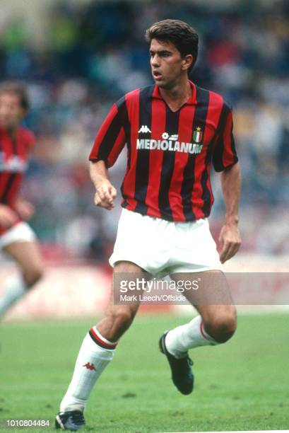 14 August 1988 London Makita International Football Tournament AC Milan v Tottenham Hotspur Alessandro Costacurta of AC Milan