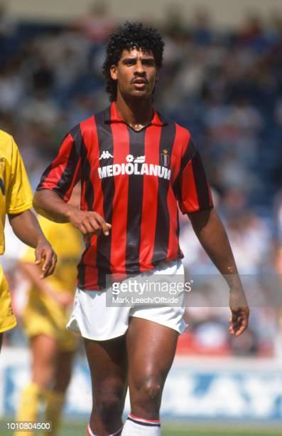August 1988 - London - Makita International Football Tournament - AC Milan v Tottenham Hotspur - Frank Rijkaard of AC Milan -