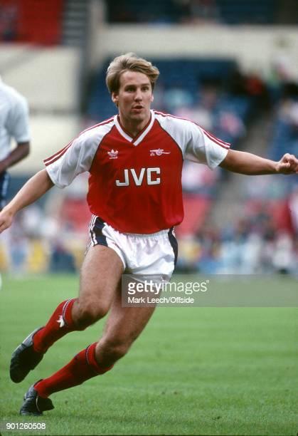 13 August 1988 Wembley Makita International Trophy Arsenal v Tottenham Hotspur Paul Merson of Arsenal