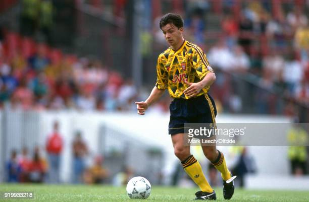 04 August 1991 London Makita International Football Tournament Arsenal v Sampdoria David Hillier of Arsenal