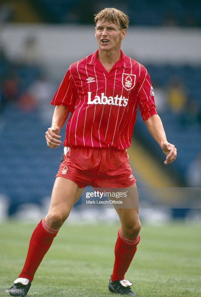 Teddy Sheringham Nottingham Forest FC 1992 : News Photo