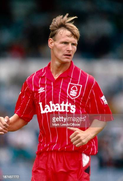 02 August 1992 Makita Football Tournament Nottingham Forest v Stuttgart Teddy Sheringham of Forest