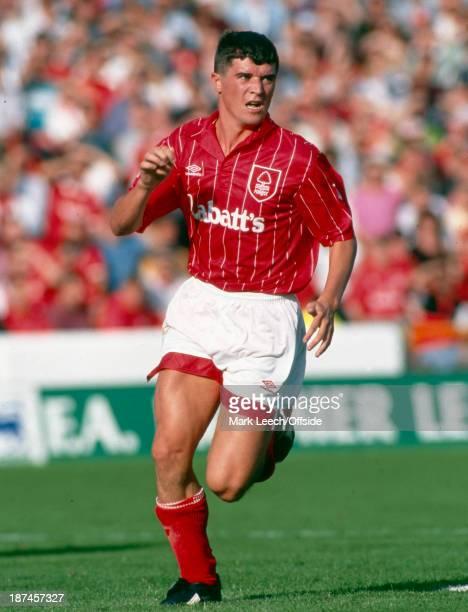 16 August 1992 Premiership Football Nottingham Forest v Liverpool Roy Keane of Forest