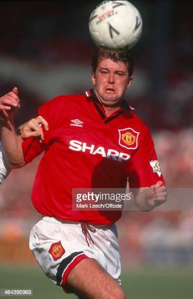 August 1994 FA Charity Shield - Blackburn Rovers v Manchester United, defender Gary Pallister.