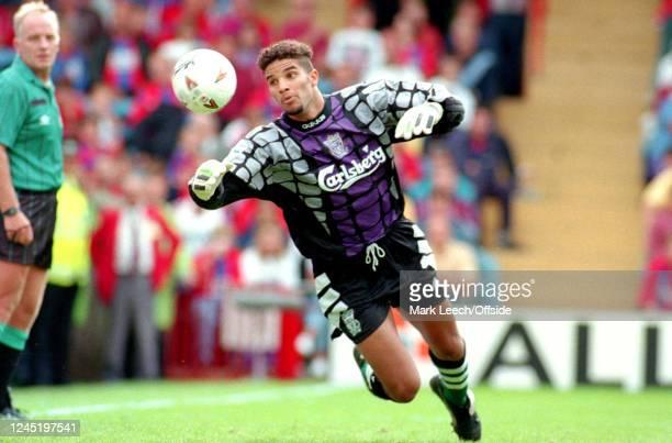 August 1994 - Premier League Football - Crystal Palace v Liverpool - Liverpool goalkeeper David James -