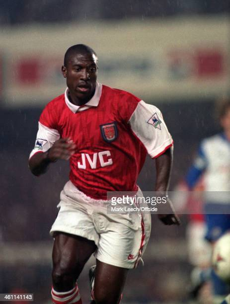 31 August 1994 Premiership Arsenal v Blackburn Rovers Kevin Campbell of Arsenal
