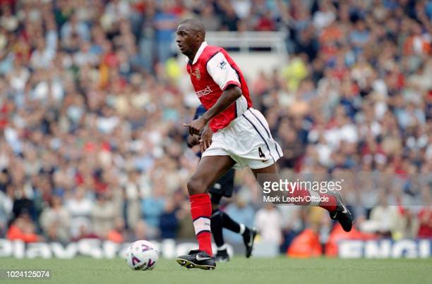 August 1999 - Premiership Football - Arsenal v Manchester United - Patrick Vieira of Arsenal -