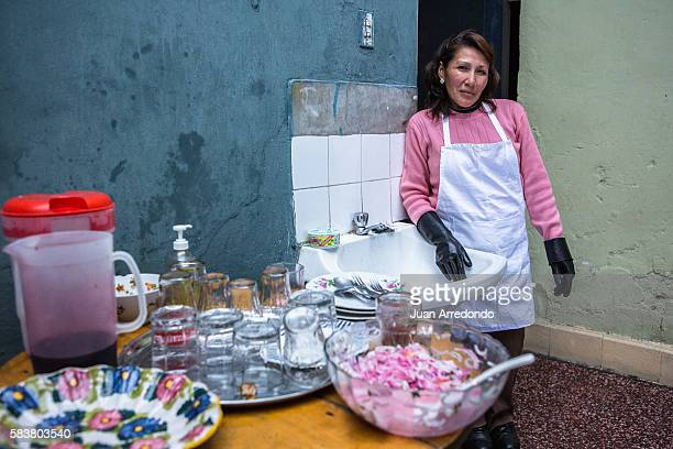 August 2 2015 LIMA PERU Rosa Vilca Yallico is a domestic worker and is a Member of the SINTRAHOGARP SINTRAHOGARP is one of several organizations of...