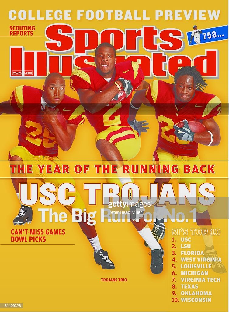 August 20, 2007 Sports Illustrated via Getty Images Cover, College
