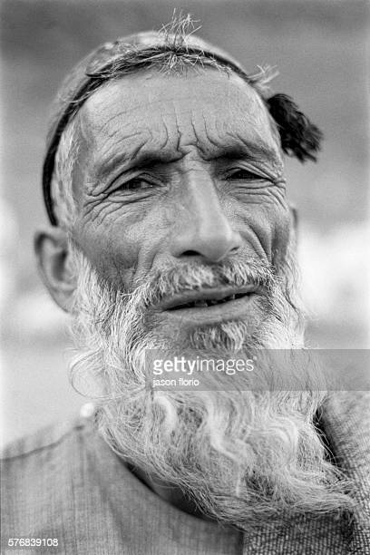 An old refugee man in the Anoba Camp Photo by Jason Florio/Corbis Sygma | Location Anoba Camp Panshir Valley Afghanistan