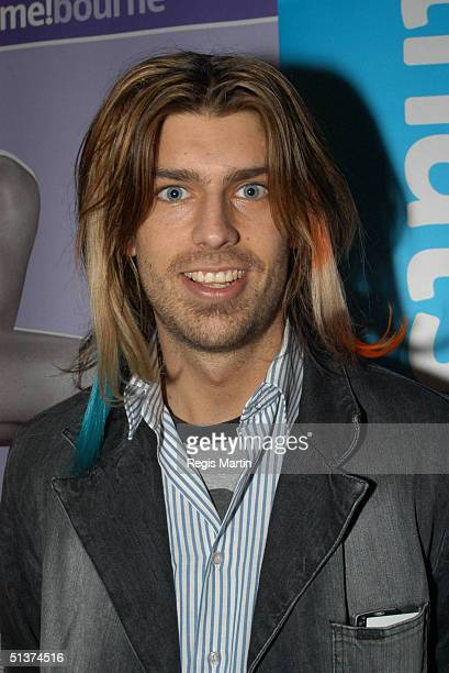 31 August 2003 ANGUS KENNETT at the Opening Ceremony of the Melbourne Spring Fashion Week at the NY on 2nd in Melbourne Melbourne Victoria Australia