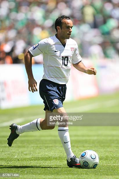 Landon Donovan The Mexico Men's National Team defeated the United States Men's National Team 21 at Estadio Azteca in Mexico City Mexico in the...