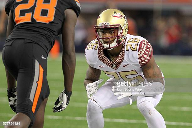30 August 2014 Florida State Seminoles cornerback PJ Williams during the Advocare Cowboys Classic college football game between the Florida State...