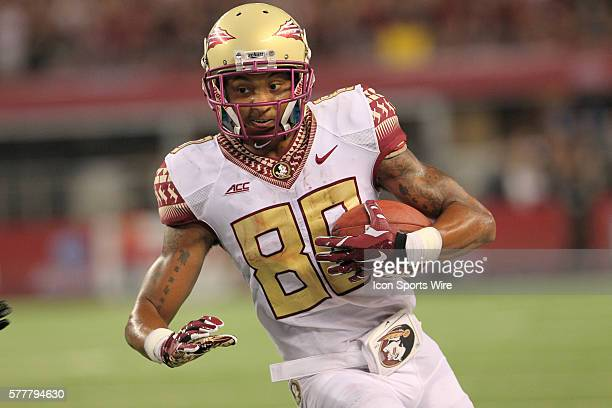 30 August 2014 Florida State Seminoles wide receiver Rashad Greene during the Advocare Cowboys Classic college football game between the Florida...