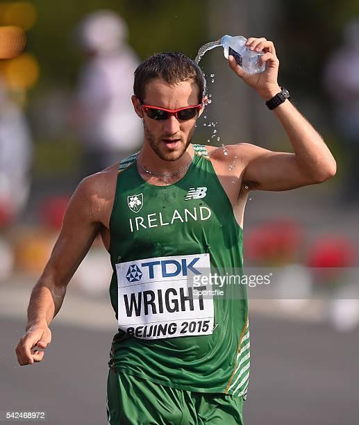 29 August 2015 Alex Wright of Ireland during the Men's 50km Race Walk final IAAF World Athletics Championships Beijing 2015 Day 8 National Stadium...