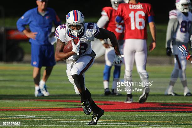 Buffalo Bills wide receiver Andre Davis during the Buffalo Bills Training Camp at St John Fisher College in Pittsford New York