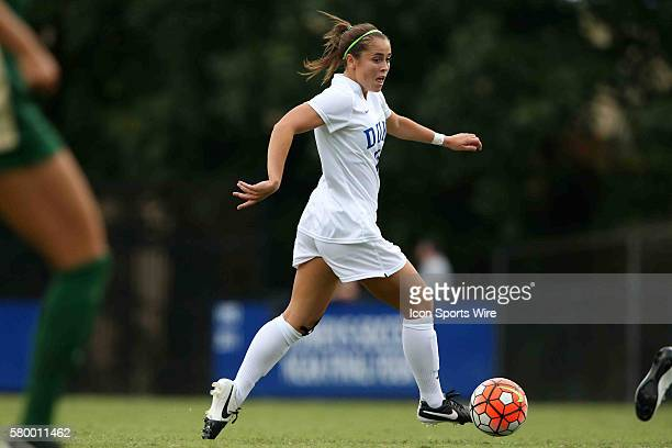 Duke's Cassie Pecht The Duke University Blue Devils hosted the William Mary University Tribe at Koskinen Stadium in Durham NC in a 2015 NCAA Division...